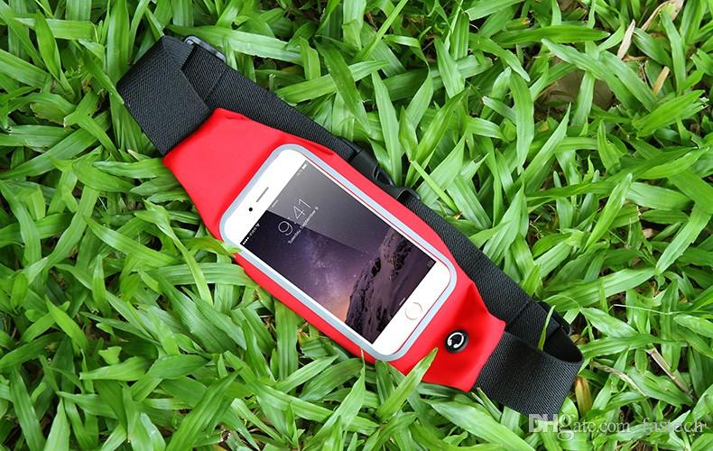 Universal Sports Waist Case Below 5.5inch For iPhone 6 6s PLus 5s 5C 4s Samsung S6 S5 S4 Mini Outdoor Running Cover accessories