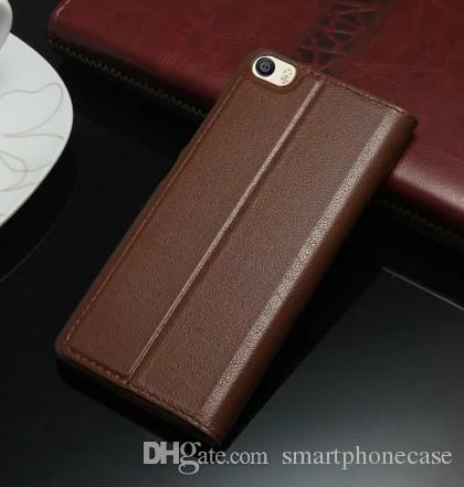 Business Xiaomi Mi5 M5 Custodia Cover Luxury Flip Window Colorata Custodia in pelle ultra sottile Xiaomi Mi5 Mi5s M5 M5s