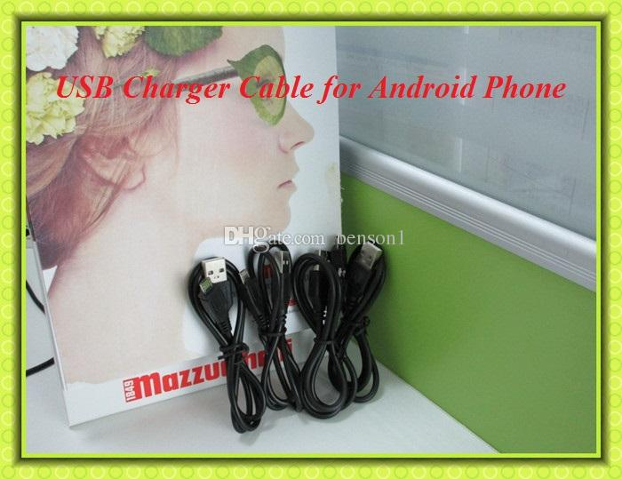 Câble chargeur micro USB pour Samsung Galaxy S4 Note 2 Adaptateur charge chargeur de données pour HTC LG oppo Téléphones portables Android