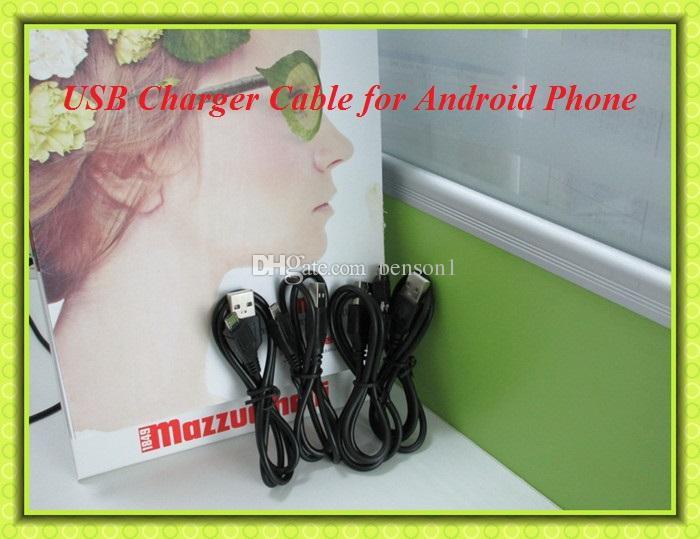 Cavo di ricarica micro USB Samsung Galaxy S4 Note 2 Cavo di ricarica adattatore dati di sincronizzazione telefoni cellulari Android oppo HTC LG