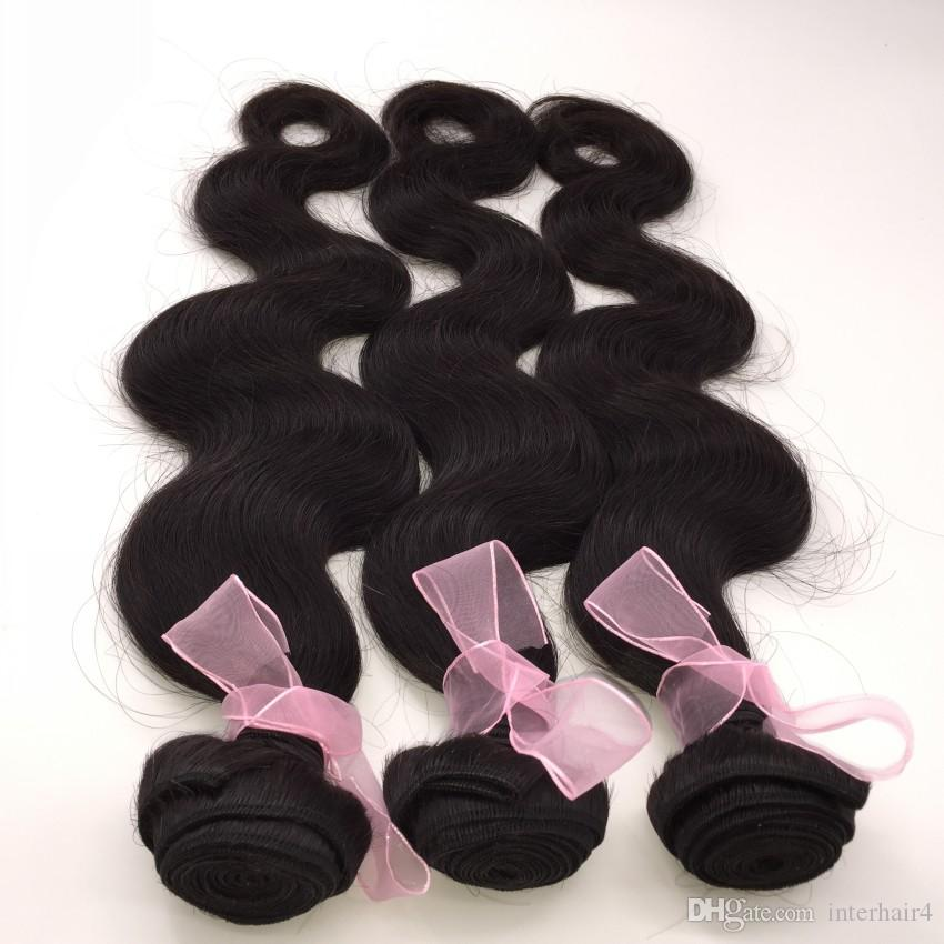 Virgin Mongolian Body Wave With Lace Frontal Closure 13x6 Virgin Remy Hair Weave Bundles With Full Lace Frontals