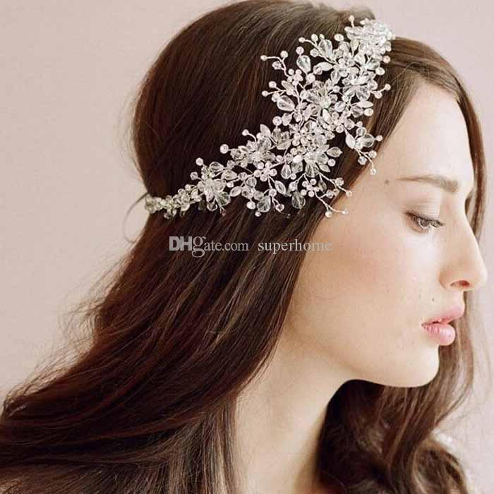 Bridal Hair Accessories Korea Shining Wedding Headpiece