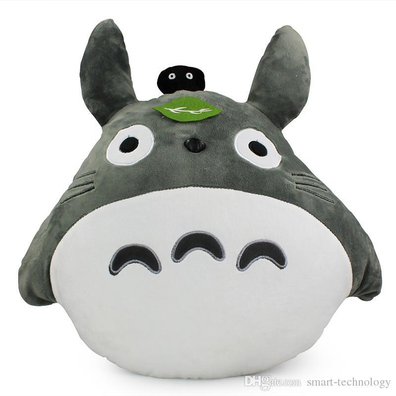 Mein Nachbar Totoro Kissen füllen Plüsch-Tiere Spielzeug Soft-Puppe für Kinder 48 * 43cm Qualitäts-freies Verschiffen ems
