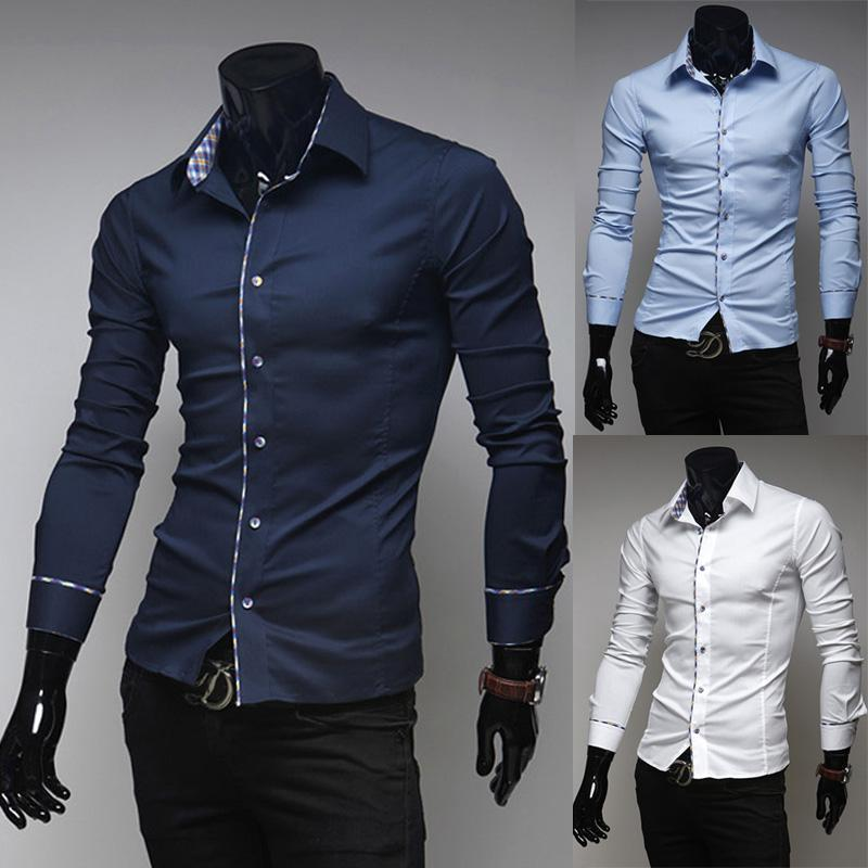 Best Quality Spring Autumn New Style Mens Fashion Shirts Long ...