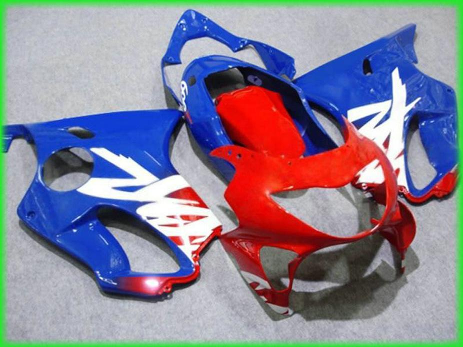 Karosserieteile für Honda Blau rot Verkleidung CBR 600 F4 1999 2000 Verkleidungen CBR600 F4 99 00 CUZA