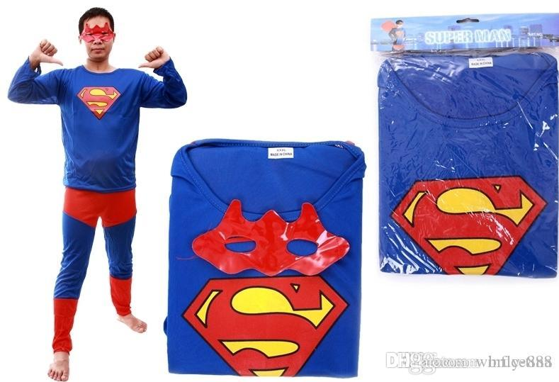 Sexy Superhero Adult Superman Clothing Classic Halloween Costumes Christmas Makeup Cosplay Characters Dress Masquerade Costume Clothes  sc 1 st  DHgate.com & Sexy Superhero Adult Superman Clothing Classic Halloween Costumes ...