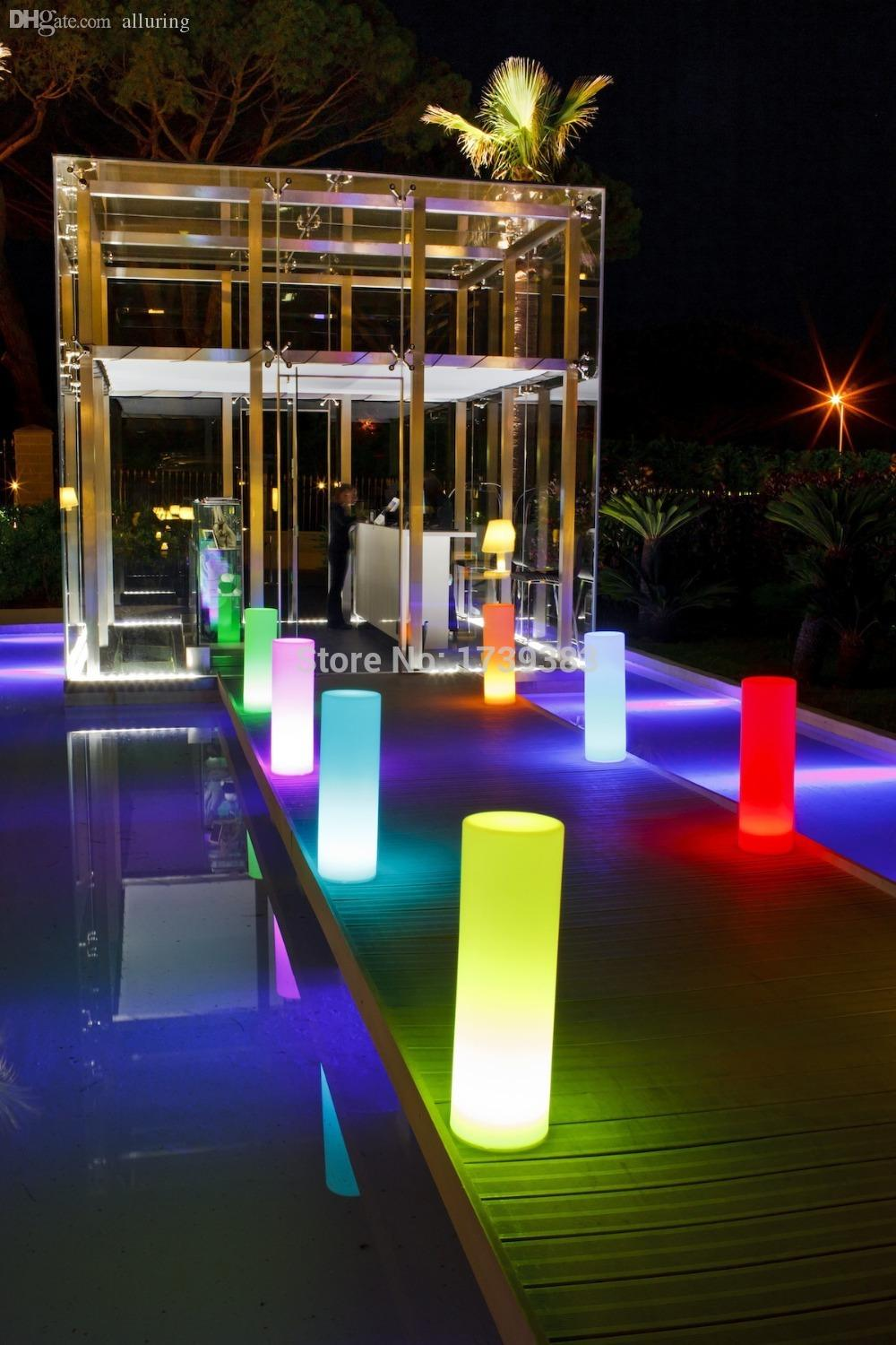 Wholesale led tower pillar medium cylinder floor lamp outdoor wholesale led tower pillar medium cylinder floor lamp outdoor landscape lights round a lamppost light colorful lights round column lights light cup light mozeypictures Image collections