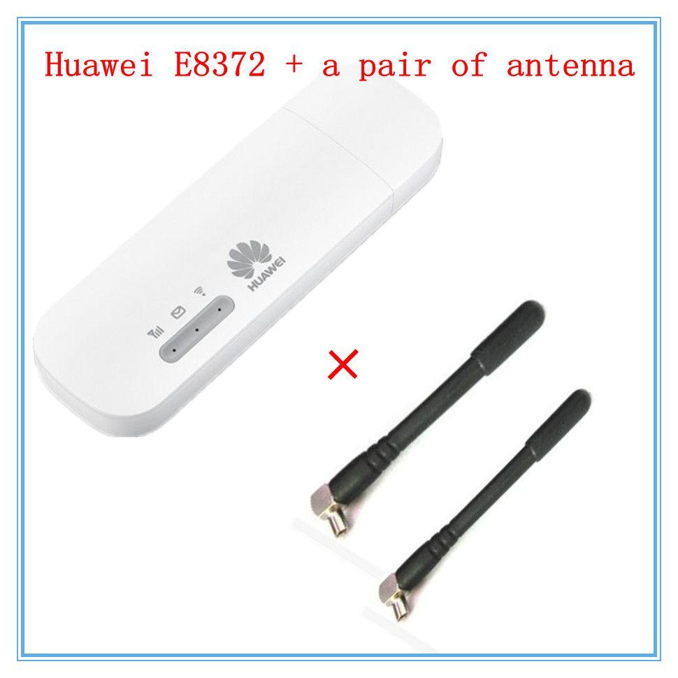 Unlocked E8372 Plus A Pair Of Antenna LTE USB Wingle LTE Universal