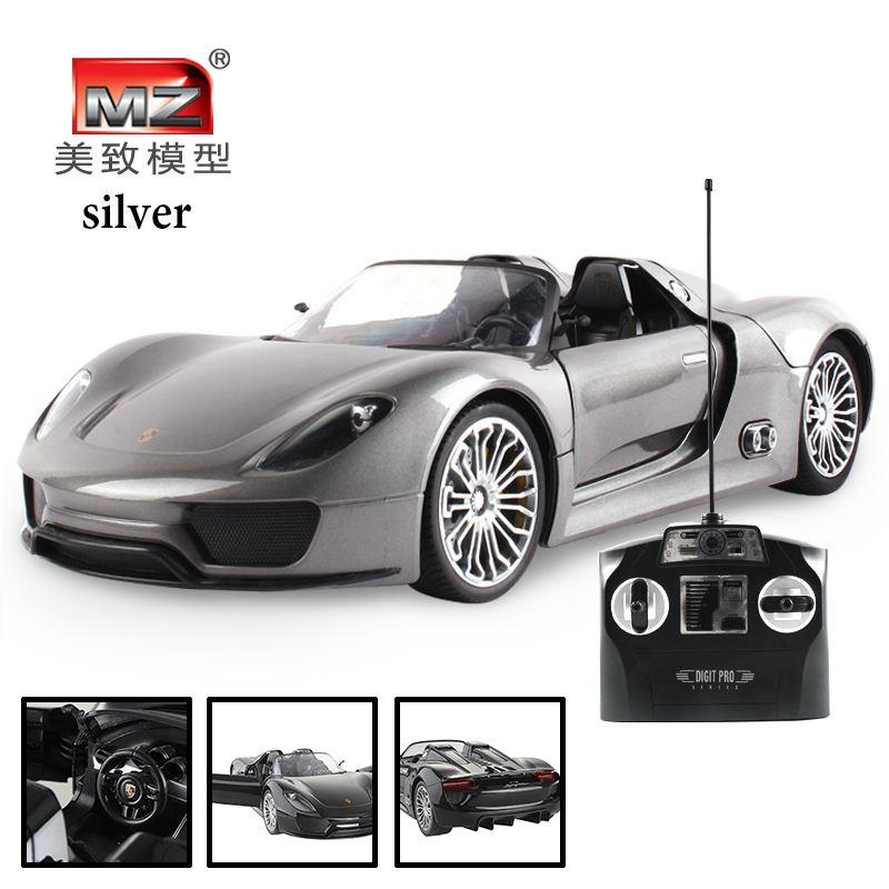 2019 Simple Box 1 14 Rc Scale Models Cars Silver Color Toys Remote