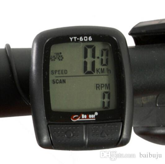 Waterproof LED LCD Display Cycling Bicycle Mountain Road MTB Bike Computer Odometer Speedometer high quality