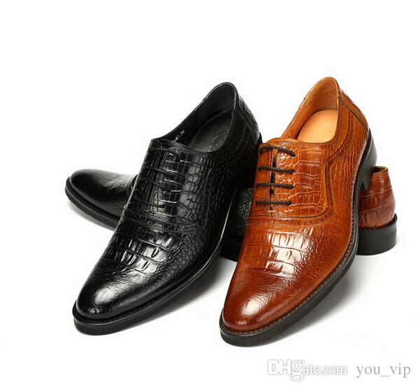 Best Quality Men Shoes Business Shoes For Men Genuine Leather Dress Shoes  Handmade Oxfords Fashion Wedding Shoes Plus Size 38~46 Tennis Shoes Oxford  Shoes ...