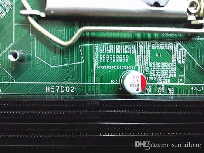 H57D02 데스크톱 마더 보드 에이서 SX2851 데스크탑 새겨 져 BASE LGA 1156 S1156 MB.GB409.001 MICRO-ATX 마더 보드