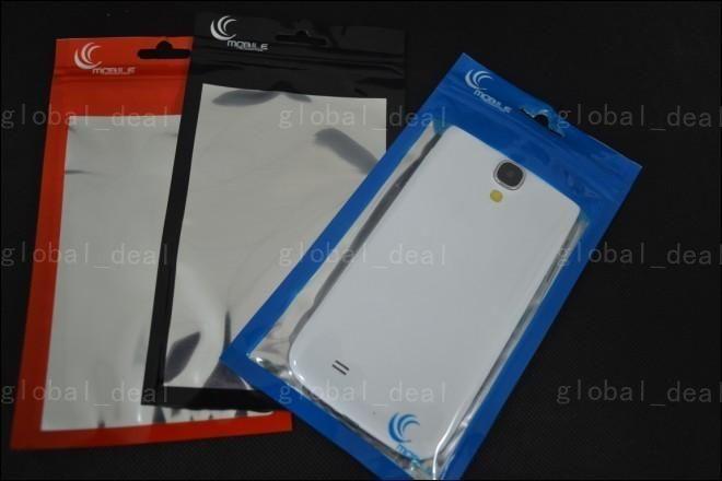 20 * 11,5 centimetri 18 * 10cm borsa sacchetto trasparente + alluminio di plastica di OPP imballaggio al dettaglio confezioni il telefono mobile delle cellule accessori Valigia cavi