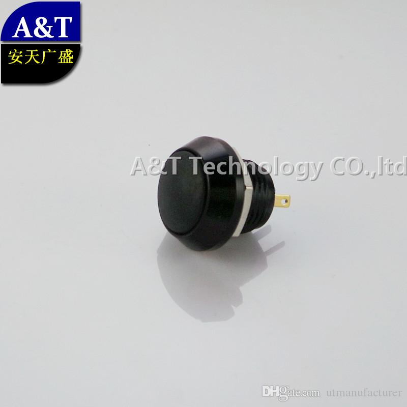 2019 dhl black shell automotive momentary push button ,zinc alloy