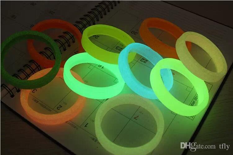 2015 Universel LED Bague Lumineuse Bumper Case Frame Glow Bracelet En Caoutchouc De Silicone Éclairage Bracelet Pour iphone 6 plus 5 5S Samsung S6 bord