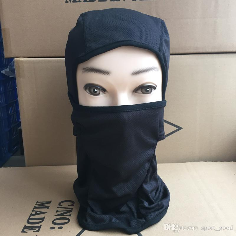 Moisture fast drying outdoor riding headwear wind dust ski proof hood cs tactical mask cycling mask for sale