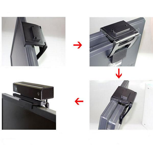 1x новый тв клип держатель подставка для Microsoft Xbox 360 Kinect датчик подставка бесплатная доставка