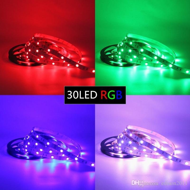 Edison2011 5M 150LEDS 5050 SMD LED Strip RGB LED-verlichting 12V Waterdichte IP65 30LEDS / M voor decoratie