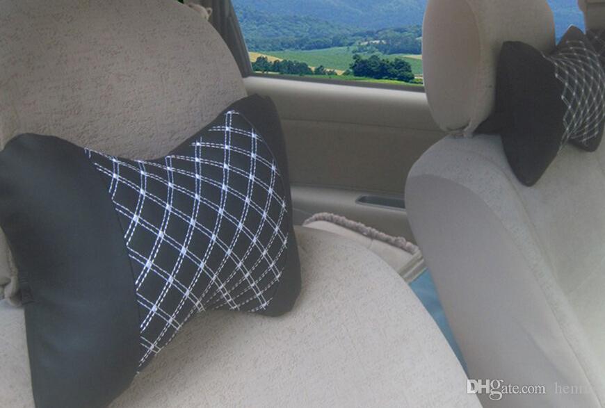 設置車のヘッドレスト車の枕木31-1A 645枕コンフォートヘッドレストのためのの後頭骨ワイン