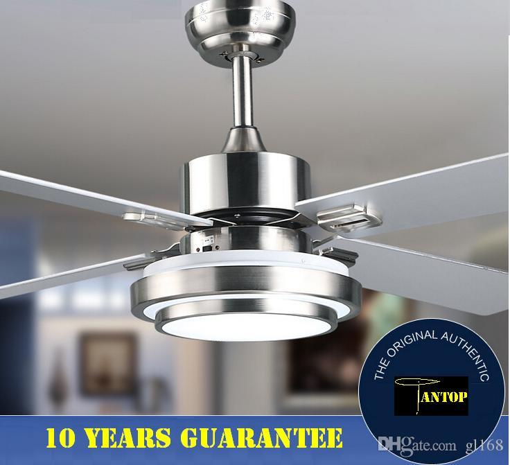 2018 Ceiling Fan Light Led Lights Bulbs Led Lighting Modern Lighting  Pendant Lighting Metal 52 With Remote 18w Led From Gl168, $486.44 |  Dhgate.Com - 2018 Ceiling Fan Light Led Lights Bulbs Led Lighting Modern