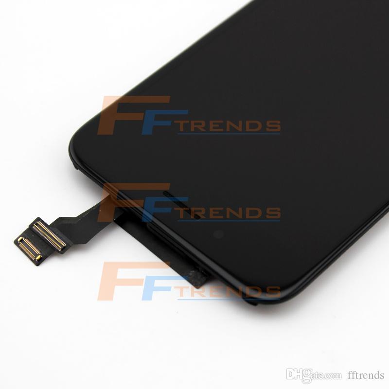 شاشة LCD تعمل باللمس محول الأرقام الشاشة كاملة مع استبدال الإطار الجمعية كاملة لفون 6 100 ٪ اختبارها /