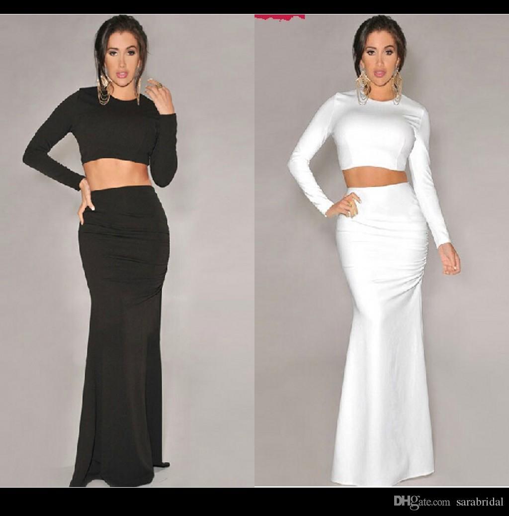 Long Plain Prom Dresses