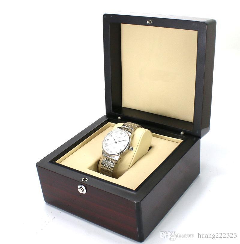 Luxus Hohe Qualität Boxen Holz Uhrenbox Männer frau Uhren Booklet Karte Tags Und Papiere ap box