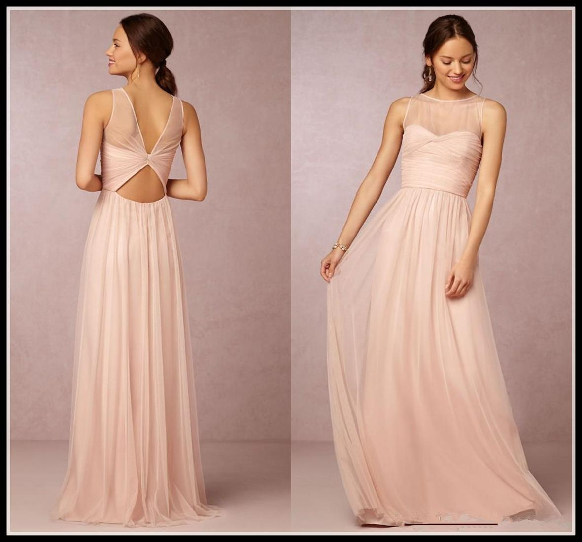 Emmani blush pink bridesmaid dresses 2016 cheap crew neck tulle specialized in wedding gown and all kinds of dressescause of all our items are customrizedso when you make an orderplease send a message to us and ombrellifo Images