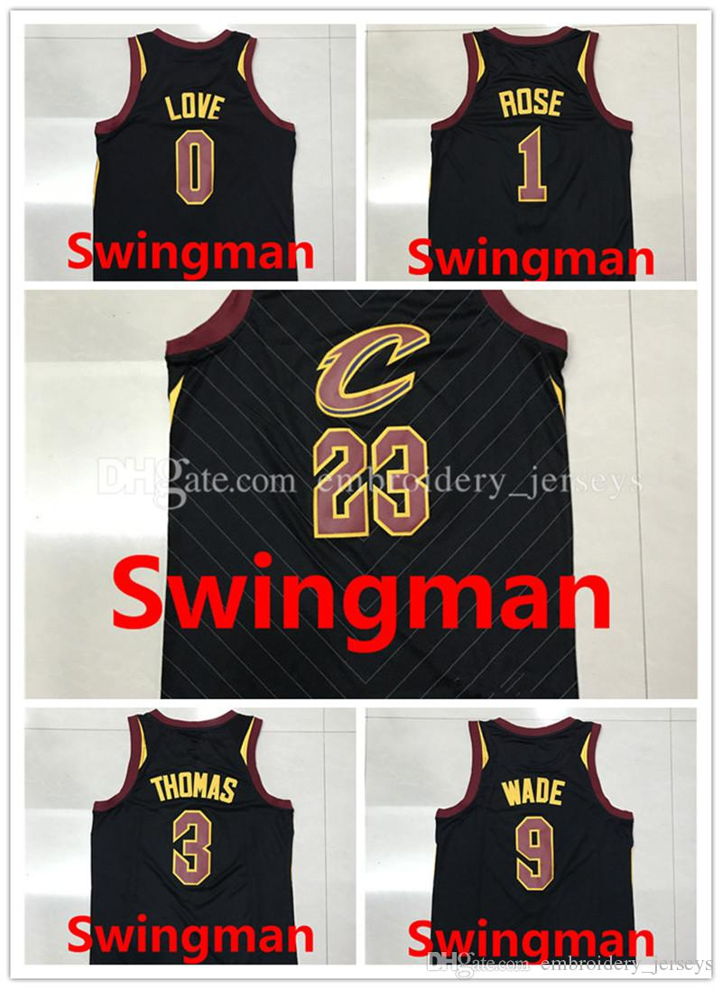 91f55f26f ... Kevin Love Cleveland Cavaliers Swingman Jersey Mens 2017-2018 New  Swingman Jerseys 23 LeBron James 9 Dwyane Wade 1 Derrick Rose ...