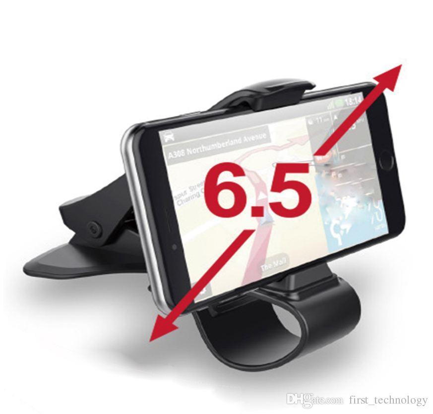 유니버설 자동차 대시 보드 아이폰 X에 대 한 마그네틱 홀더 Antiskid 자동차 마운트 아이폰 8 7 6에 대 한 조정 가능한 전화 대 브래킷 삼성 xiaomi