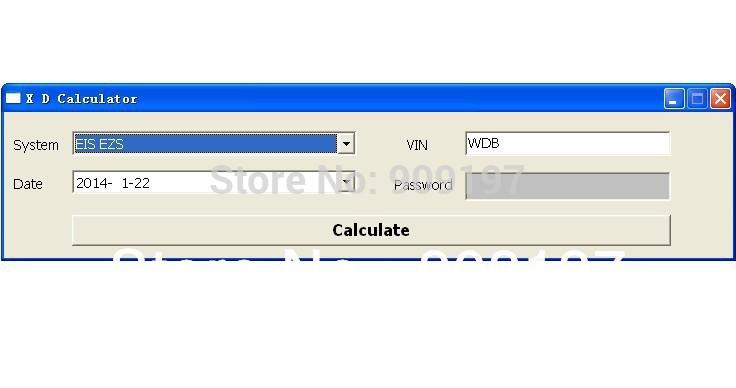 xentry special function password keygen / generator