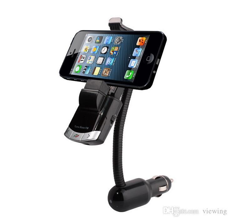 2019 new arrival bluetooth car kit car phone holder usb. Black Bedroom Furniture Sets. Home Design Ideas