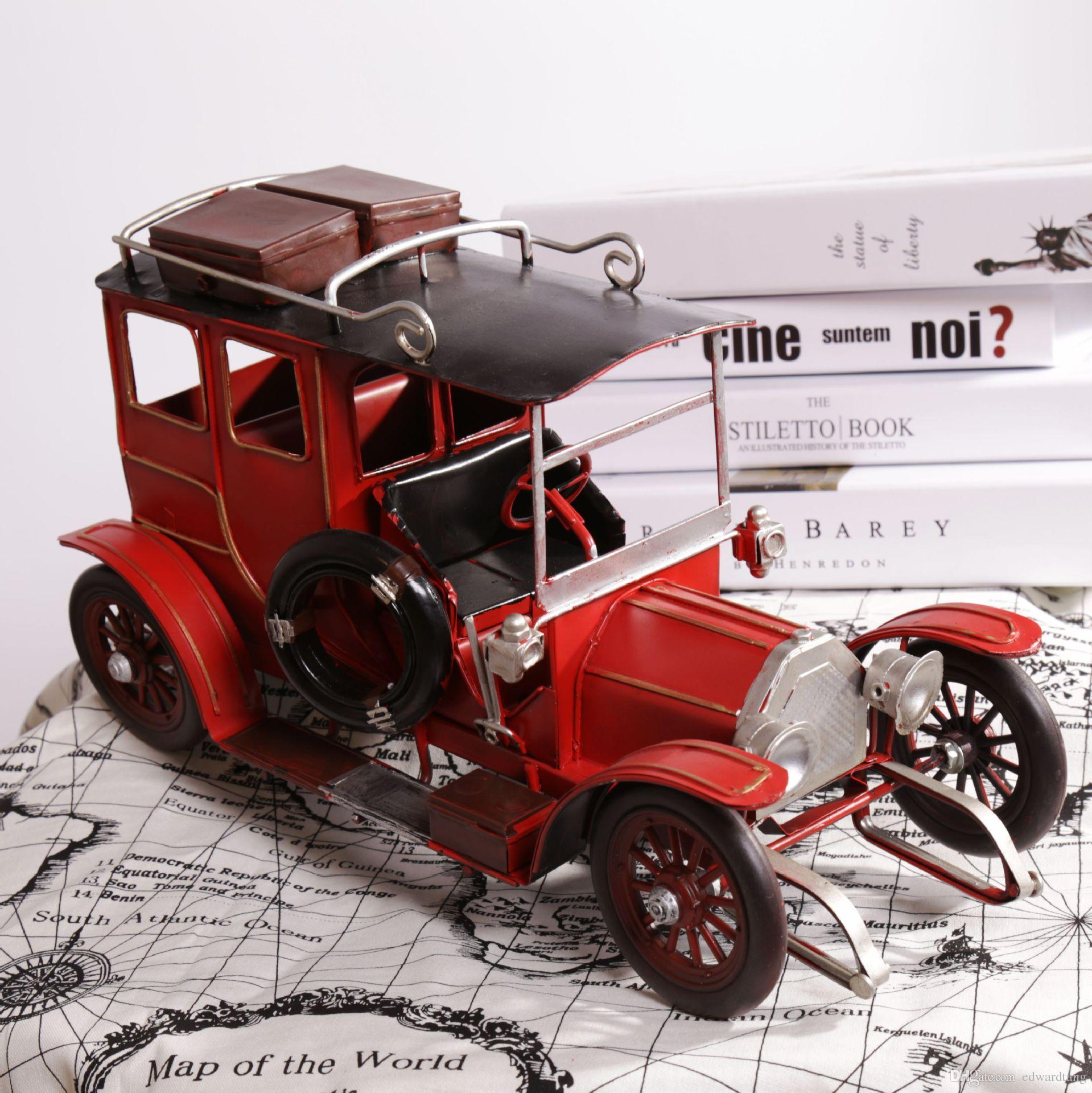 نموذج سيارة صفيح ، حافلة سياحية إنجليزية كلاسيكية ، حرفة يدوية بحتة ، أعمال فنية ، لعبة عيد الميلاد للأطفال ، جمع ، ديكور ، محاكاة عالية الجودة