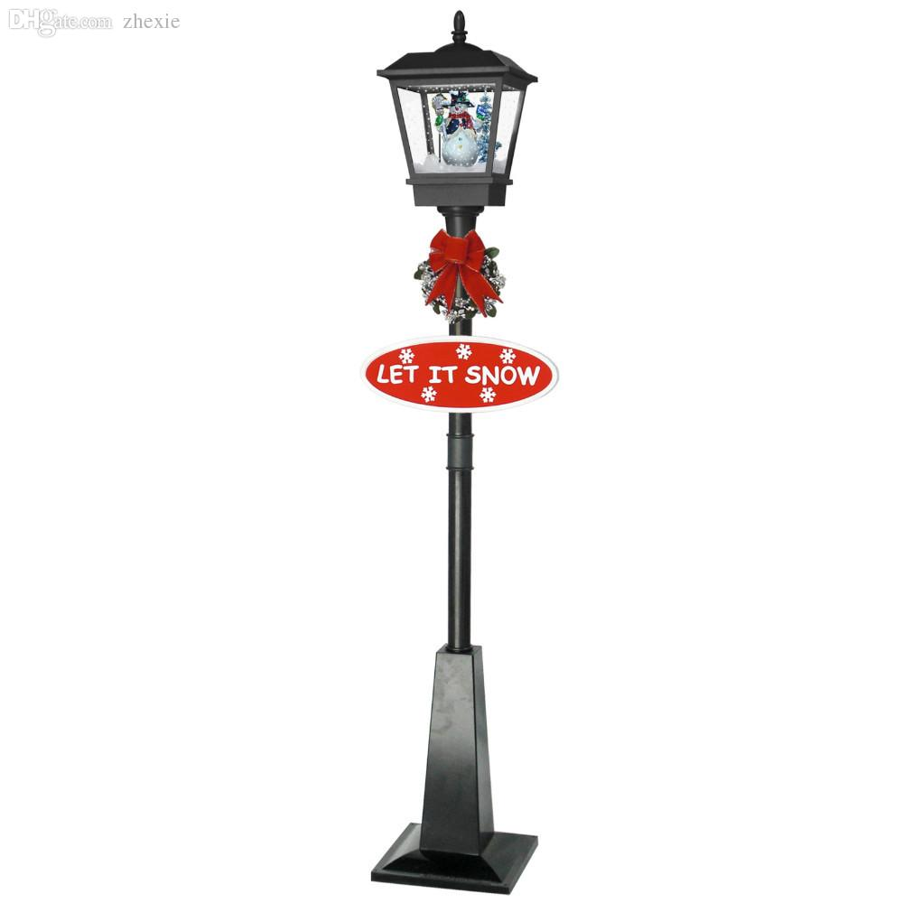 Wholesale 70.75 Rainproof Lighted Musical Vertical Snowing ... for Indoor Street Light Lamp  126eri