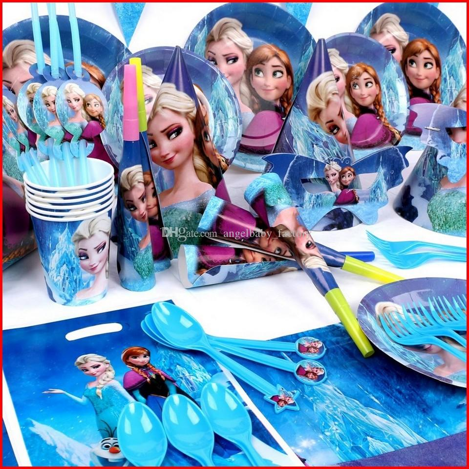 2018 Frozen Party Decorations Set Elsa Anna Frozen Theme Party