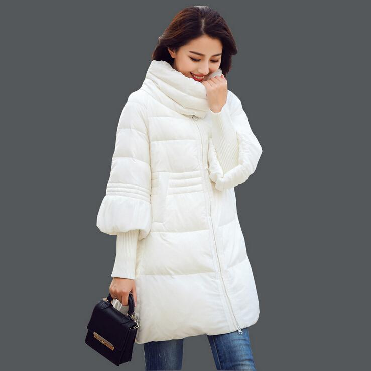 0fa81d439955 2019 New Arrivel Korean Women Winter Coats 2015 Fashion Big Swing Rib  Sleeve Plus Size Down Jacket Coats Long Thin Cloak Cotton Padded Coat From  Cnaonist