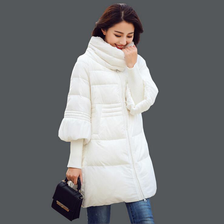 3b795fd437b 2019 New Arrivel Korean Women Winter Coats 2015 Fashion Big Swing Rib  Sleeve Plus Size Down Jacket Coats Long Thin Cloak Cotton Padded Coat From  Cnaonist