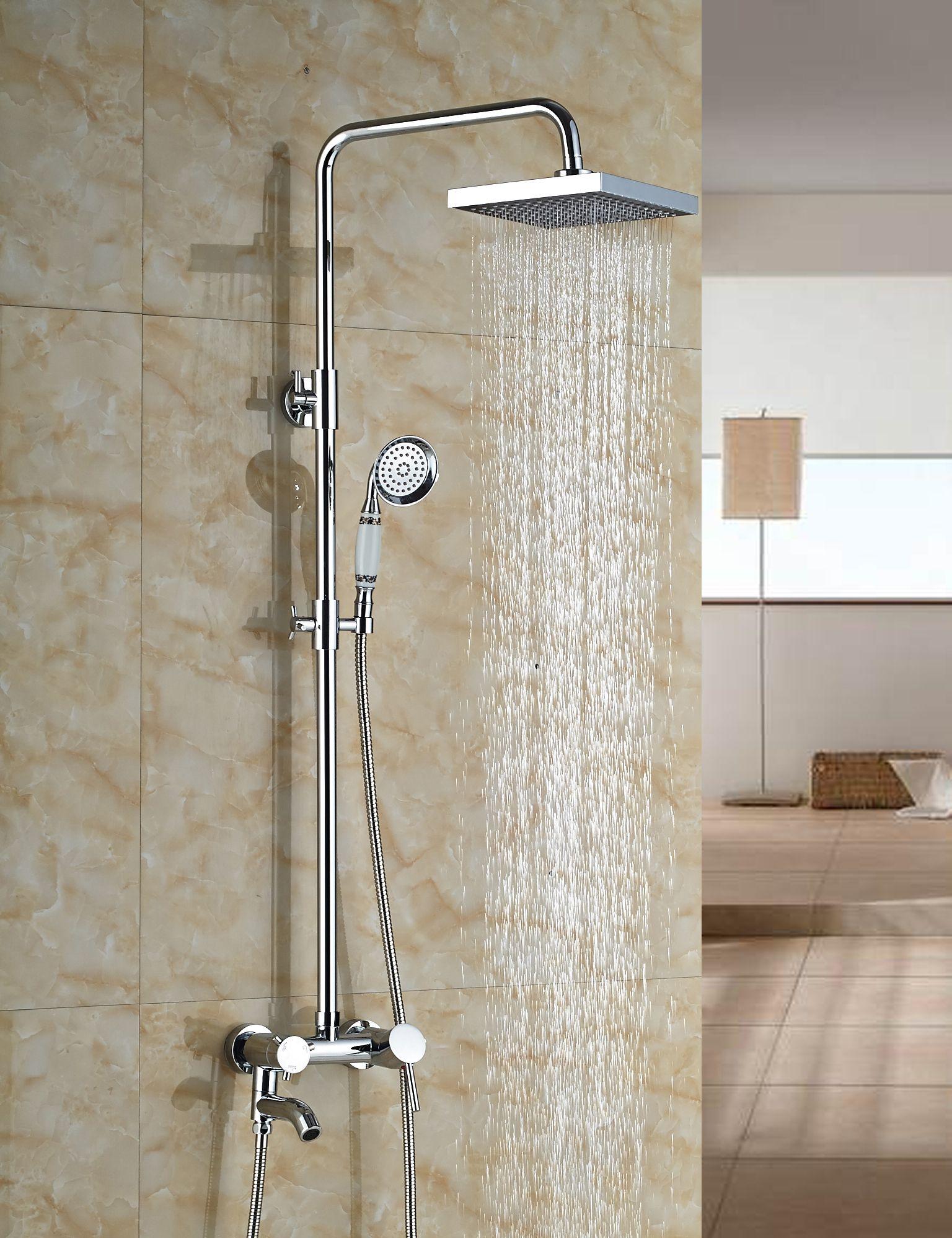 Wholesale And Retail Luxury Rain Shower Faucet