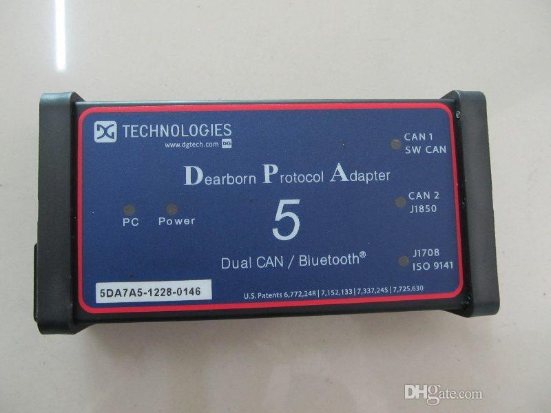 Super Diagnostic Truck Tools DPA5 Dearborn Protocol Adaptador 5 Caminhão Pesado New Holland Diagnostic Tool