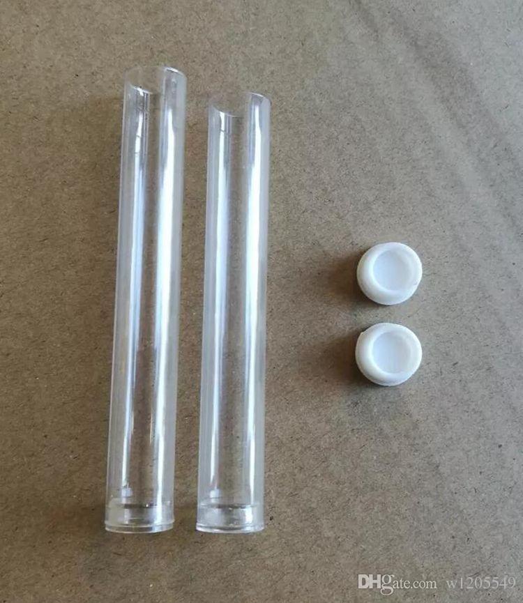 La migliore vendita PP vaporizzatore cartuccia di plastica imballaggio tubo trasparente vape cartuccia di imballaggio e cig tubo di plastica cartuccia DHL