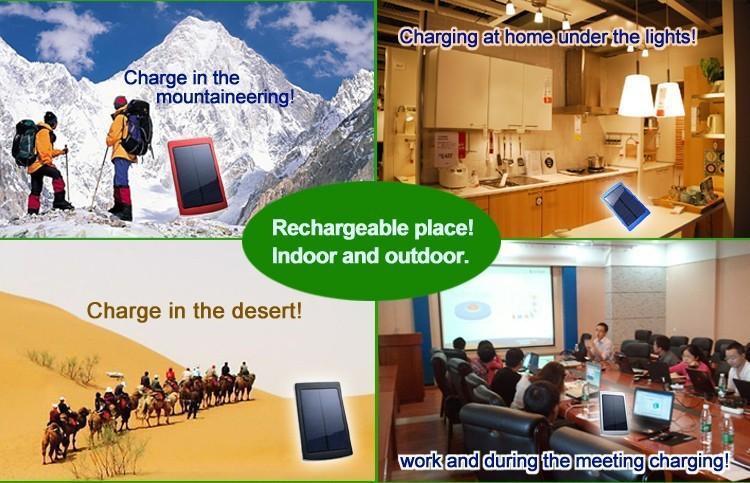 Nouveau 50000mah Solaire Chargeur et Batterie 50000 mAh Panneau Solaire Double Ports de Charge banque d'alimentation portable pour Tous Téléphone Portable table PC MP3