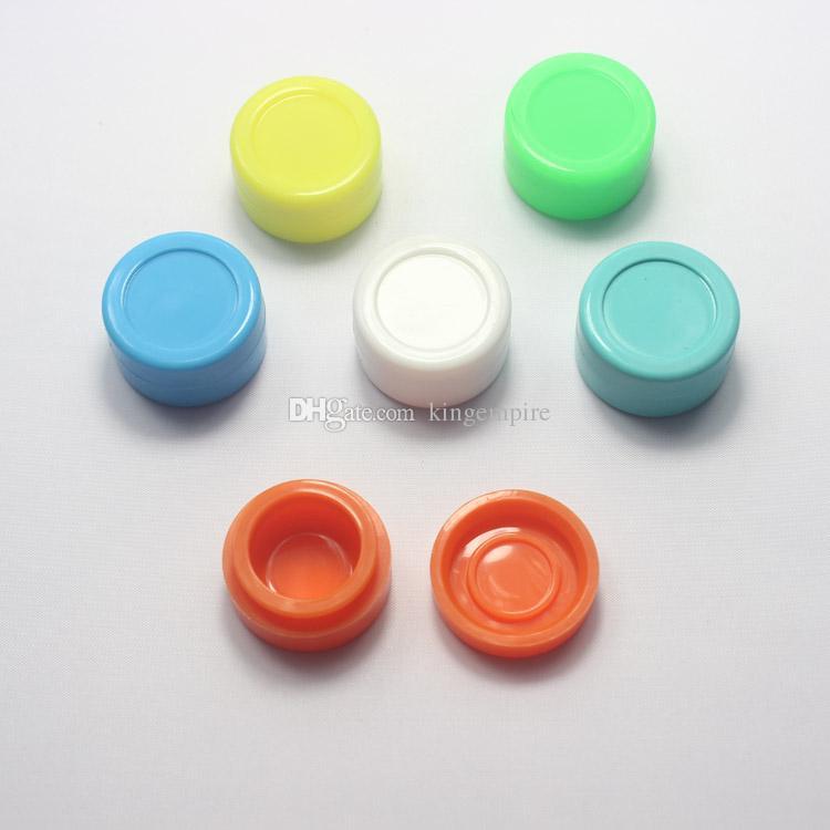 Масло воск антипригарным BHO концентрат Силиконовая Банка антипригарным, воск Dab силиконовые притон, кошелек, контейнер банку 10 цветов коробка масла