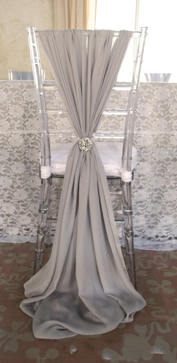 20 Beige Chair Sashes For Wedding Event Party Decoration Sash Ideas Chiffon From Yateweddingdress 5729
