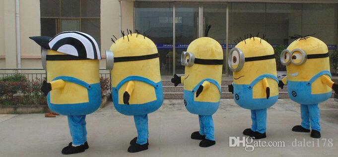 2014 8 Styles, Despicable Me Minion Mascot Costume For Adults Despicable Me Mascot Costume ...