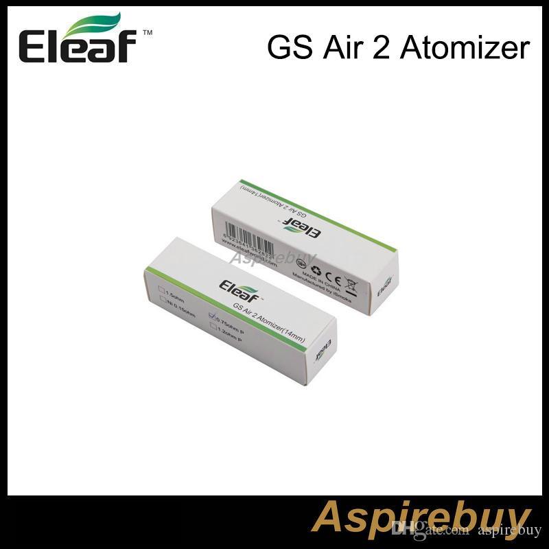 Eleaf ismoka GS Air 2 Atomizer 2ML Tank GS-Air 2 Dual Coil Atomizer Airflow Adjustable for Eleaf istick Basic Kit 100% Original