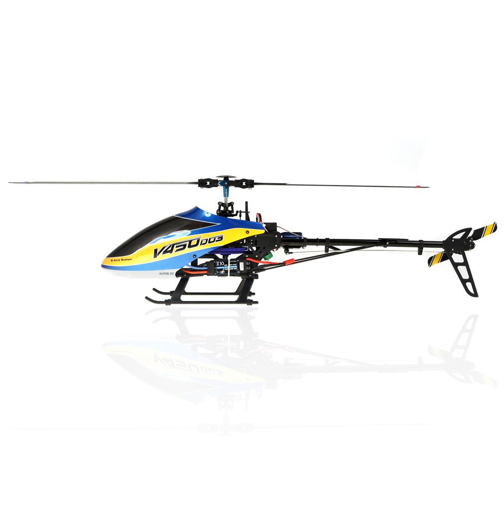 Elicottero 450 : Walkera v450d03 6ch 450 rc fbl helicopter without transmitter bnf