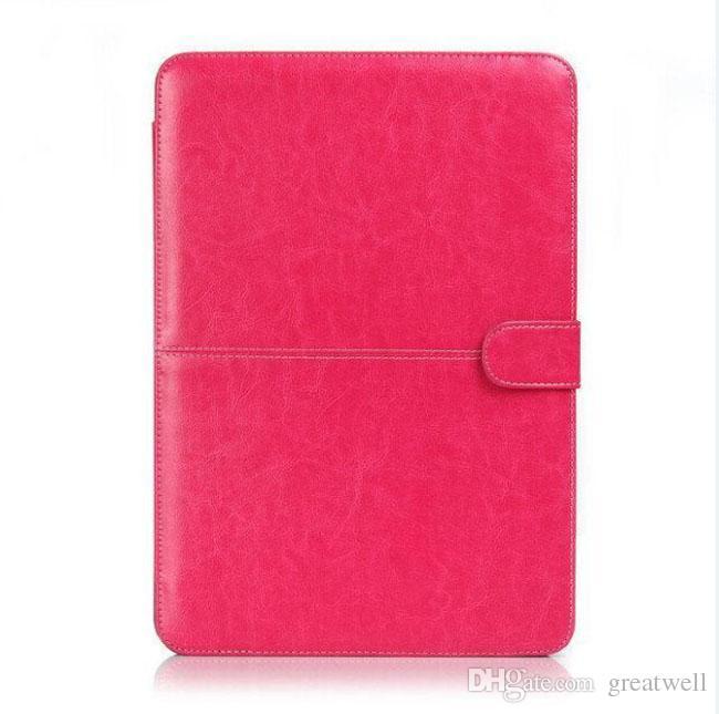Étui en cuir de protection pour étui de protection en cuir pour étui de protection pour nouveau MacBook Air Pro Retina 11.6 12 13.3 15.4 pouces pour ordinateur portable