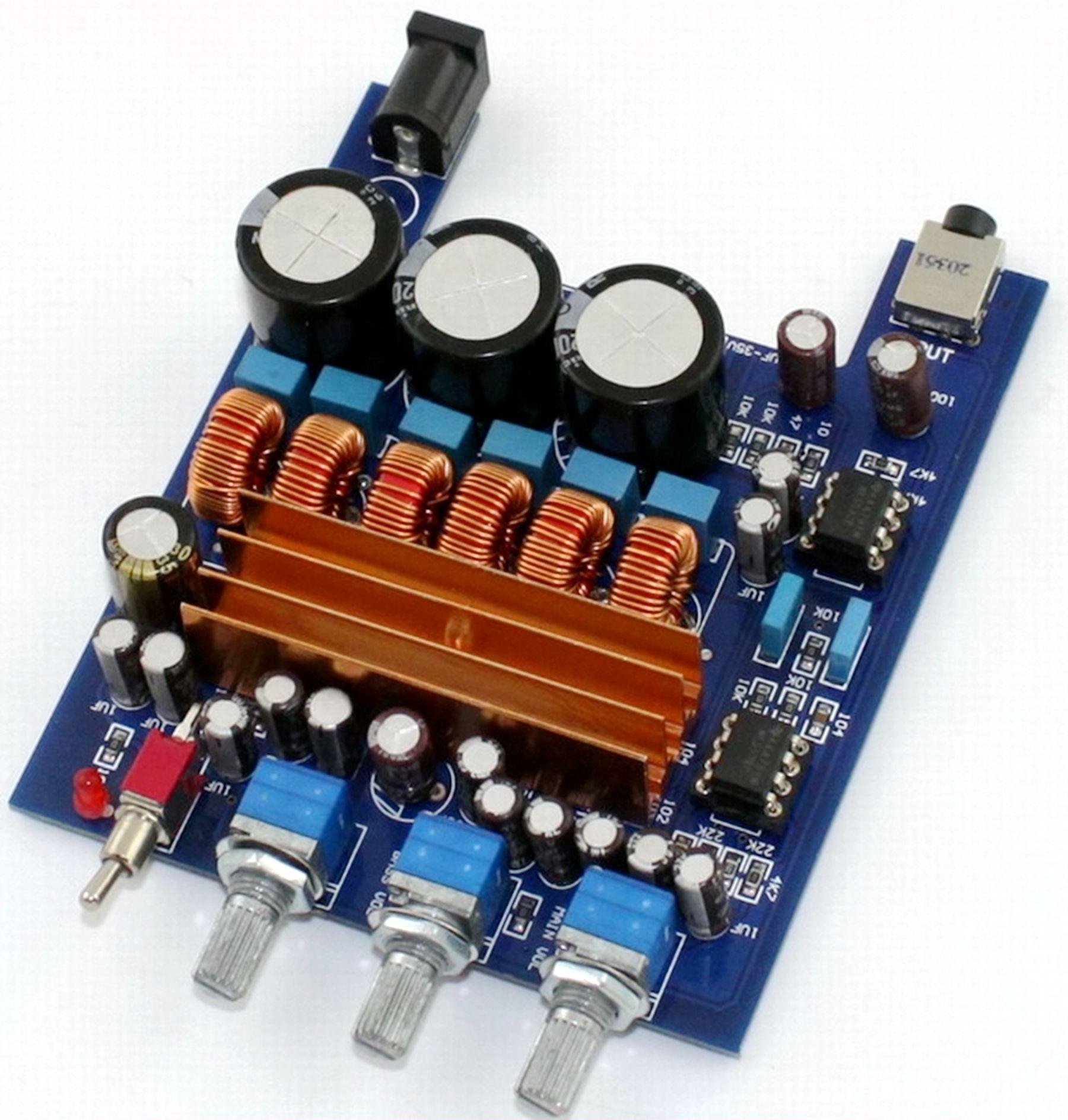 Best 21 High Power Digital Amplifier Board Tpa3116 Filter Capacitor Capacity Increase 3 Times Under 2764