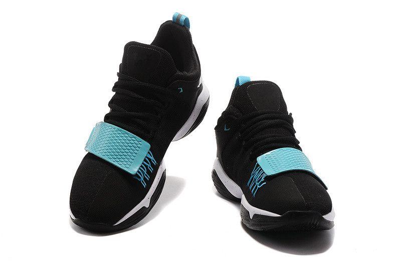 paul george shoes kids black