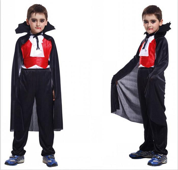 New Children Halloween Clothes Vampire Costumes For Kids Boys ...